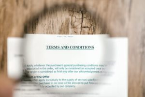 Average Cost of Life Insurance - Terms and Conditions Photo
